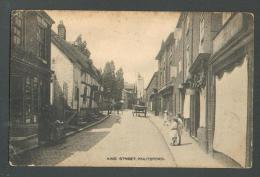 KING STREET ,  KNUTSFORD , OLD POSTCARD ,O - England
