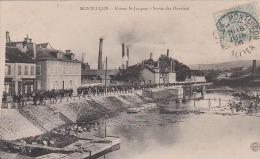 MONTLUCON  Usines St-Jacques  Sortie Des Ouvriers - Montlucon