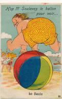LA BAULE - Carte à Système Dépliant - Soulevez Le Ballon - 10 Mini Vues - La Baule-Escoublac