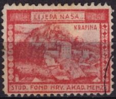 Croatia, Yugoslavia / Krapina - 1930´s - Croatian Student Charity Stamp - Label / Cinderella - Used - Croatia