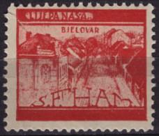 Croatia, Yugoslavia / BJELOVAR - 1930´s - Croatian Student Charity Stamp - Label / Cinderella MNH - Croazia