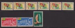 Togo  N° 309 A 314 + PA N° 34 à 36  Neufs  ** - Togo (1960-...)