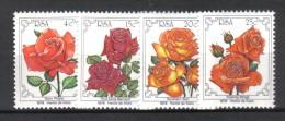 W199 - AFRICA DEL SUD , Serie N. 467/470  ***  Rose - Südafrika (1961-...)