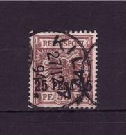 GERMAN EAST AFRICA 1893 Empire Stamp Overprinted  Michel Cat N° 5  Very Fine Used (one Short Teeth) - Colony: German East Africa