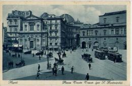 Napoli - Piazza Trento Trieste - Già Ferdinando - Formato Piccolo Non Viaggiata - Napoli (Naples)
