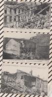 4AF1456 BAR LE DUC Lot 6 Cartes LA GRANDE GUERRE 1914-18 BOMBARDEMENT  2 SCANS - Bar Le Duc