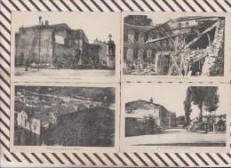 4AF1457 VILLE BOMBARDEE DANS LA MEUSE Lot De 11 Cartes  2 SCANS - France