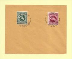 Occupation - Timbre Allemand N°822+823 - Theme Cheval - Besetzungen