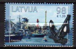 2013 Latvia / Lettland -Port Of Liepaja - 1v -  Paper MNH** - Barche