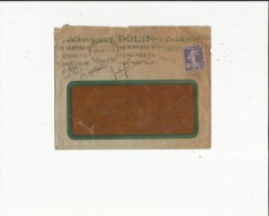 Enveloppe Timbrée Avec Courrier De Sté Anonyme VERMOUT DOLIN  Maison Fondée An 1821 A Chambery 73 - Mechanical Postmarks (Other)