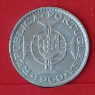 MOZAMBIQUE  20  ESCUDOS  1960  SILVER COIN KM# 80  -    (Nº06867) - Mozambique