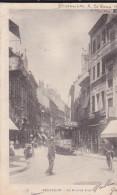 BESANCON  La Grande Rue  - Animée, Vélo, Tramway - Précurseur - Besancon