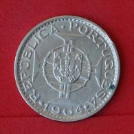 TIMOR  10  ESCUDOS  1964  SILVER COIN KM# 16  -    (Nº06877) - Timor