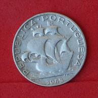 PORTUGAL  2,5  ESCUDOS  1943  SILVER COIN KM# 580  -    (Nº06881) - Portugal