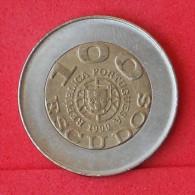 PORTUGAL  100  ESCUDOS  1999  PORTUGUSA KM# 722,2  -    (Nº06885) - Portugal