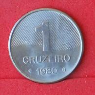 BRAZIL  1  CRUZEIROS  1980   KM# 590  -    (Nº06921) - Brésil