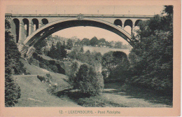 CPA Luxembourg - Pont Adolphe (4325) - Luxemburg - Stadt