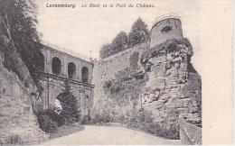 CPA Luxembourg - Le Bock Et La Pont Du Château (4327) - Luxemburg - Stadt
