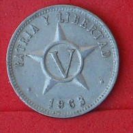 CUBA  5  CENTAVOS  1963   KM# 34  -    (Nº06934) - Cuba