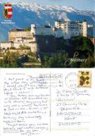 Salzburg, Austria Postcard Used Posted To UK 2008 Stamp - Salzburg Stadt