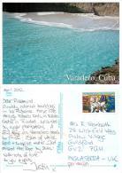 Varadero, Cuba Postcard Used Posted To UK 2012 Nice Stamp - Cuba