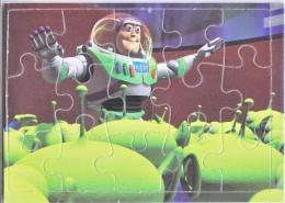DISNEY  TOY  STORY   PUZZLE CARD   1995  HASBRO, INC. - Disney