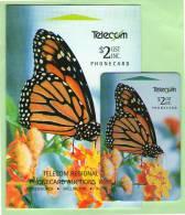 New Zealand - 1994 Auction Bidders Card - $2 Monarch Butterfly - NZ-P-33 - Mint In Folder - Nouvelle-Zélande