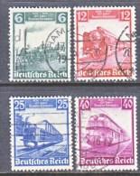 GERMANY  459-62   (o)  TRAINS - Germany
