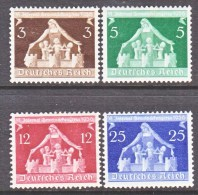 GERMANY   473-6 * - Unused Stamps