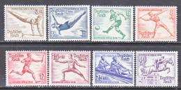 GERMANY   B 82-9  **  SUMMER SET - Unused Stamps