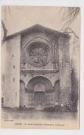 (RECTO / VERSO) DIGNE EN 1919 - LA VIEILLE CATHEDRALE - BEAU CACHET - Digne