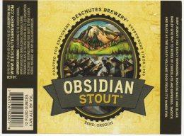 Deschutes - Obsidian Stout (USA) - Birra