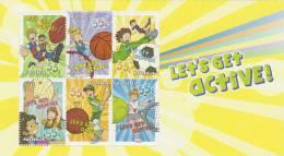 Australia-2009 Let´s Get Active Souvenir Sheet   MNH - Soccer