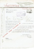 Brief 1941 LUISENTHAL - VOGT-WERKE - Hebezeugfabriken - Allemagne