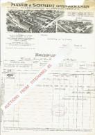 Rechnung 1929 OFFENBACH - MAYER & SCHMIDT - Schleifmaschinen Und Schmirgel-werke - Allemagne
