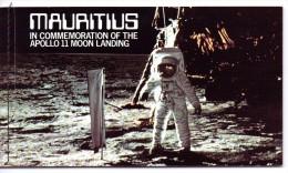 MAURICE 1979 CARNET ESPACE  YVERT N°490/92  NEUF MNH** - Space