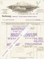 Rechnung1934 WIPPERFÜRTH - KORDT & ROSCH - Press, Stanz-u. Hammerwerk - Allemagne