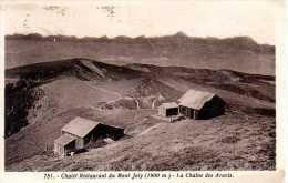 74 - Chalet Restaurant Du Mont Joly - Chaine Des Aravis - France