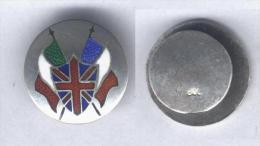 Insigne Patiotique 1ére Gurerre Mondiale - ( Boutonnière ) - Badges & Ribbons