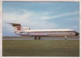 """Hawker Siddeley Trident 1C , G-ARPX , British European Airways , Still Wearing The Bright """" Red Square """" Colorscheme - 1946-....: Modern Era"""
