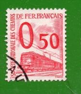 FRANCE COLIS POSTAUX N° 36 (o) (YT) 50c. ROUGE VALEUR 4,50 EUROS - Parcel Post