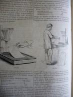 La Photographie , Par Les Sels D'argent , Gravure De 1864 Avec Texte - Documents Historiques