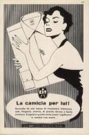 # CAMICIE CIT MILANO 1950s Advert Pubblicità Publicitè Reklame Shirts Chemises Camisetas Hemden - He