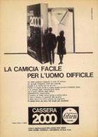 # CAMICIE CASSERA 2000 1950s Advert Pubblicità Publicitè Reklame Shirts Chemises Camisetas Hemden - Signore