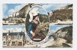 14-Sainte-Honorine-sur-Mer, Falaises Vers Colleville, Maree Basse Vers Port En  **SCANS RECTO VERSO **E54 - Autres Communes