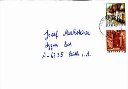 Brief Von 6010 Innsbruck Mit 58 Cent Hadres + 4 Cent Wien 2012 - 1945-.... 2ème République