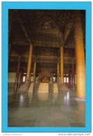 CARTE POSTALE POSTAL POSTCARD ASIA ASIE CHINA CHINE THE HALL OF SUPREME HARMONY INTERIOR - Chine