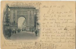 75 Paris Précurseur 1898 Porte Saint Denis - Non Classés
