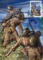 Australia 2010 Maximum Card Kokoda Campaign 1942 2nd World War - Maximumkaarten