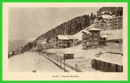 - Leysin-  Avenue Secrétan (recto Verso) - VD Vaud